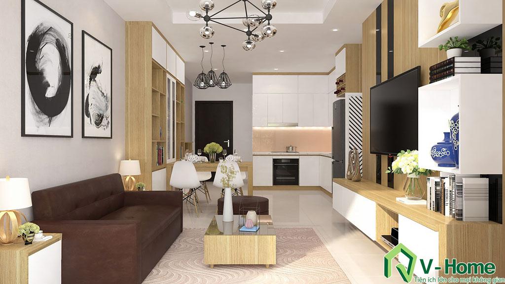 thiet-ke-noi-that-chung-cu-auris-3-1 Thiết kế nội thất chung cư Auris City - Anh Minh