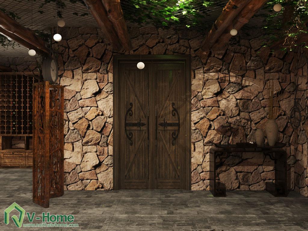 thiet-ke-noi-that-ham-ruou-6 Thiết kế nội thất hầm rượu biệt thự Tràng An Complex