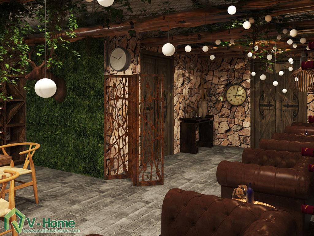 thiet-ke-noi-that-ham-ruou-7 Thiết kế nội thất hầm rượu biệt thự Tràng An Complex