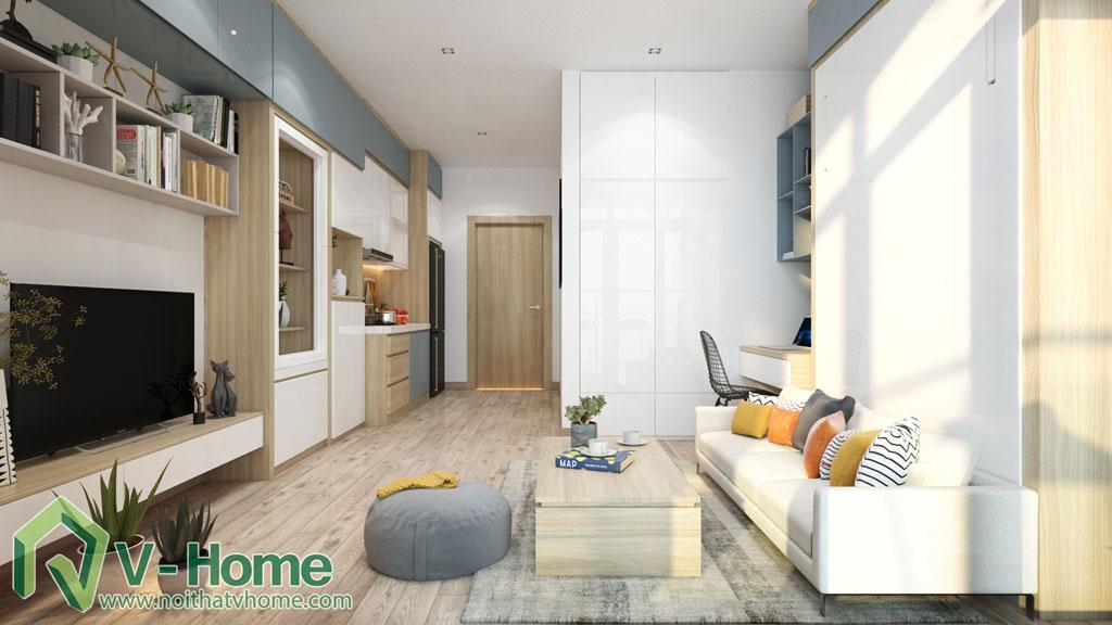 thiet-ke-noi-that-officetel-studio-green-bay-me-tri-2 Thiết kế nội thất Chung cư Vinhomes Officetel Green Bay Mễ Trì