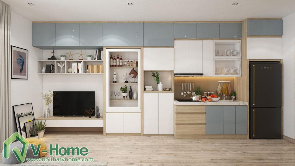 thiet-ke-noi-that-officetel-studio-green-bay-me-tri-4 Thiết kế nội thất Chung cư Vinhomes Officetel Green Bay Mễ Trì