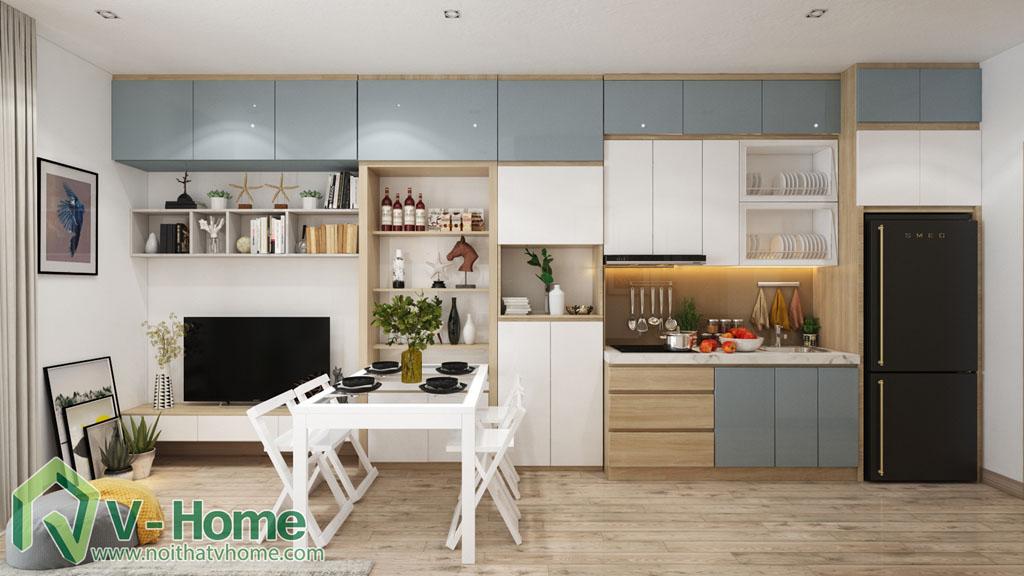 thiet-ke-noi-that-officetel-studio-green-bay-me-tri-5 Thiết kế nội thất Chung cư Vinhomes Officetel Green Bay Mễ Trì