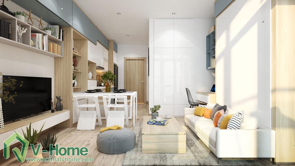 thiet-ke-noi-that-officetel-studio-green-bay-me-tri-6 Thiết kế nội thất Chung cư Vinhomes Officetel Green Bay Mễ Trì