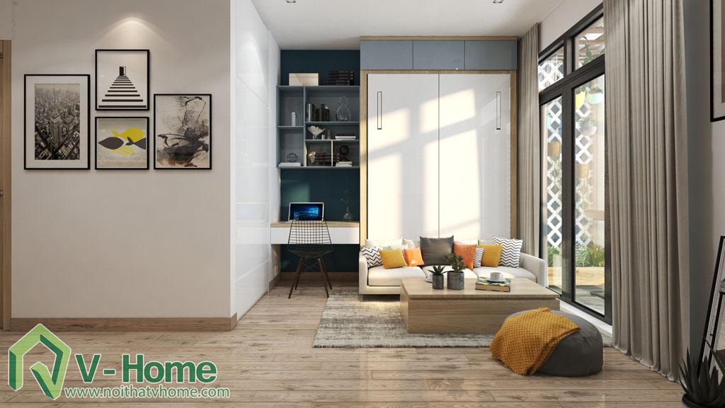thiet-ke-noi-that-officetel-studio-green-bay-me-tri-7 Thiết kế nội thất Chung cư Vinhomes Officetel Green Bay Mễ Trì