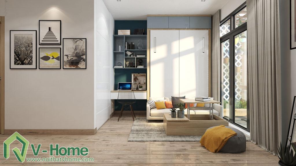 thiet-ke-noi-that-officetel-studio-green-bay-me-tri-8 Thiết kế nội thất Chung cư Vinhomes Officetel Green Bay Mễ Trì