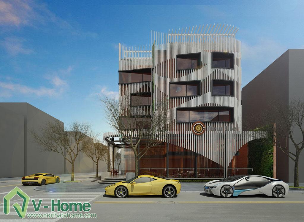 10 Thiết kế kiến trúc New Life Restaurant