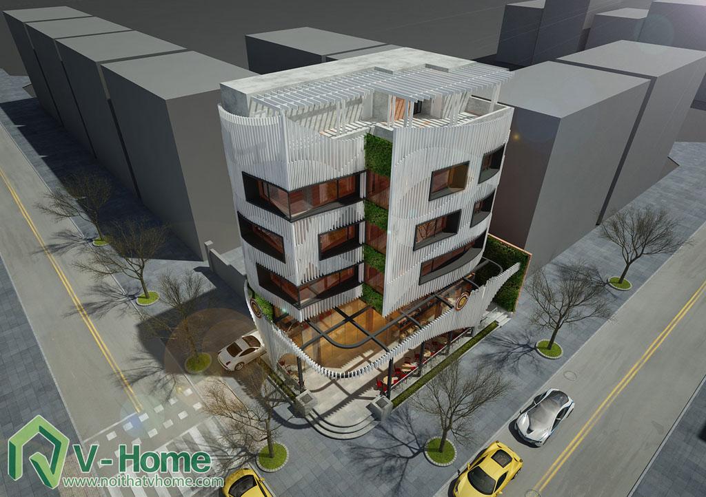 11 Thiết kế kiến trúc New Life Restaurant