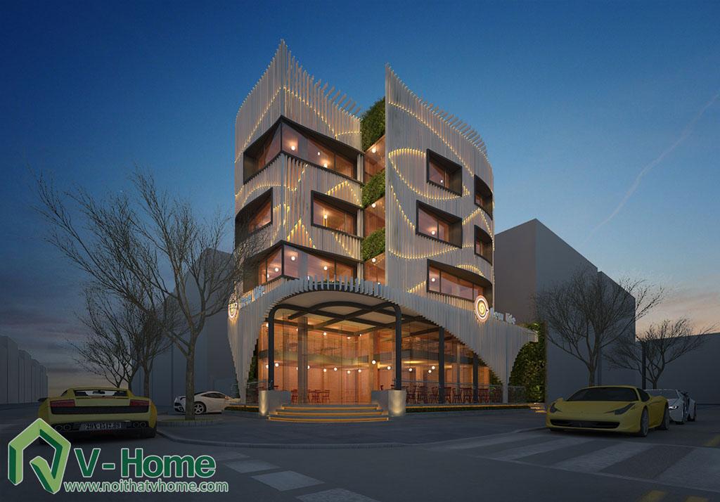 12 Thiết kế kiến trúc New Life Restaurant