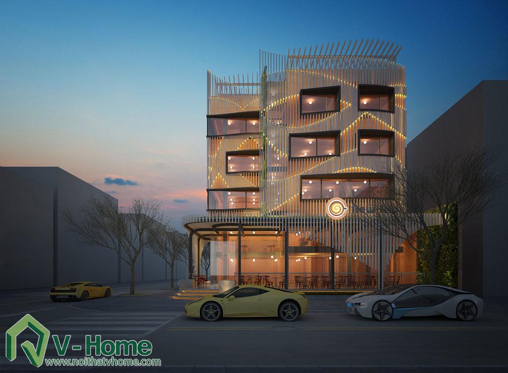 14 Thiết kế kiến trúc New Life Restaurant