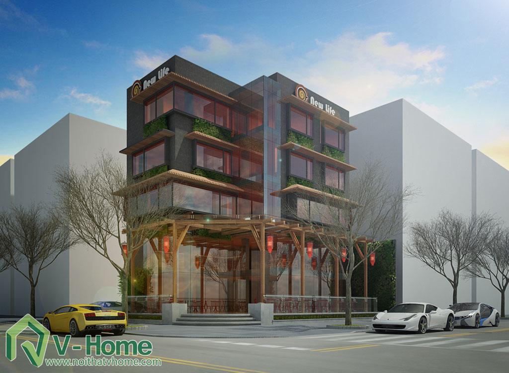 7-1 Thiết kế kiến trúc New Life Restaurant