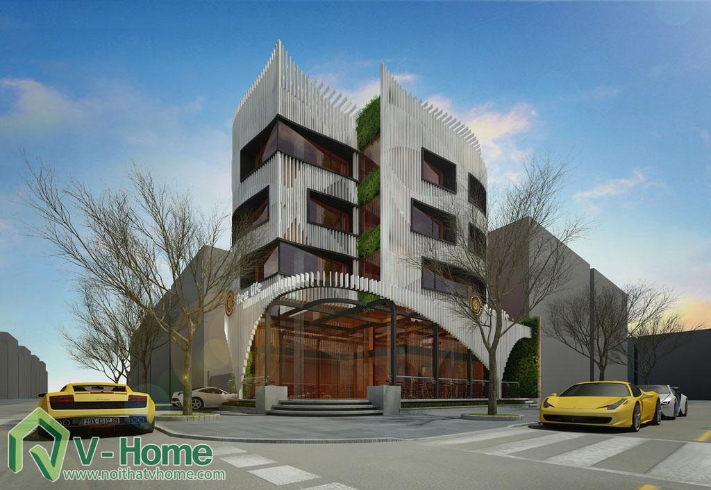 9 Thiết kế kiến trúc New Life Restaurant
