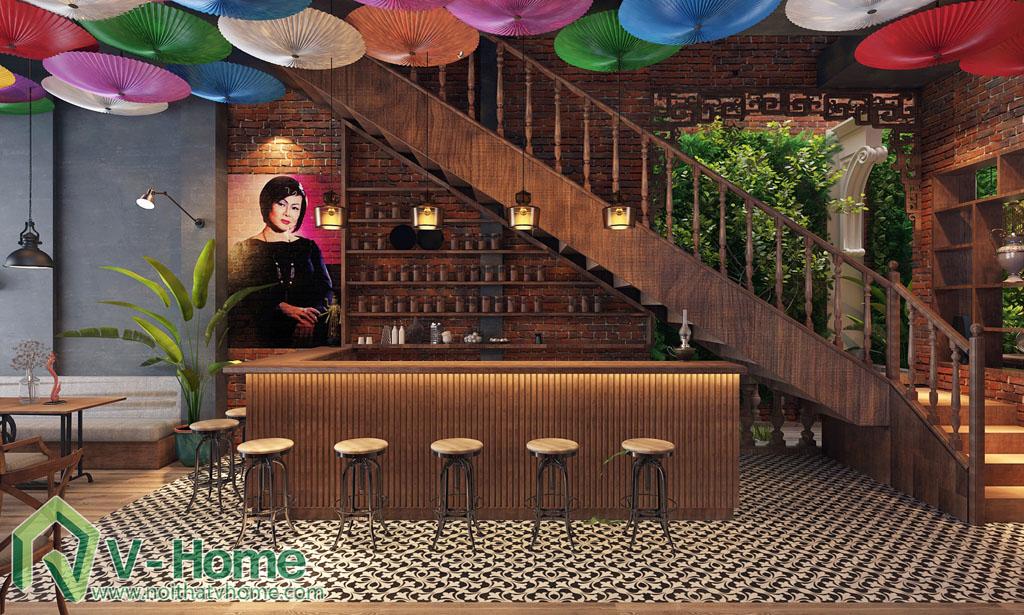 DAO-restaurant-5 Thiết kế không gian ĐÀO Restaurant