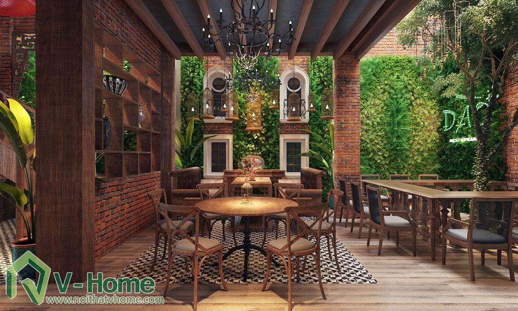 DAO-restaurant-6 Thiết kế không gian ĐÀO Restaurant