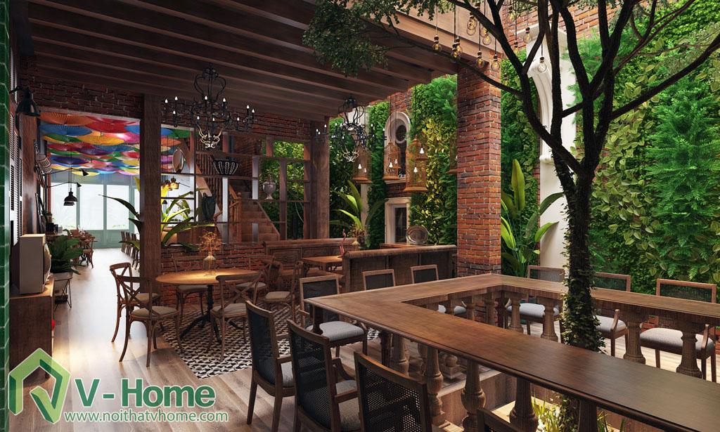 DAO-restaurant-8 Thiết kế không gian ĐÀO Restaurant