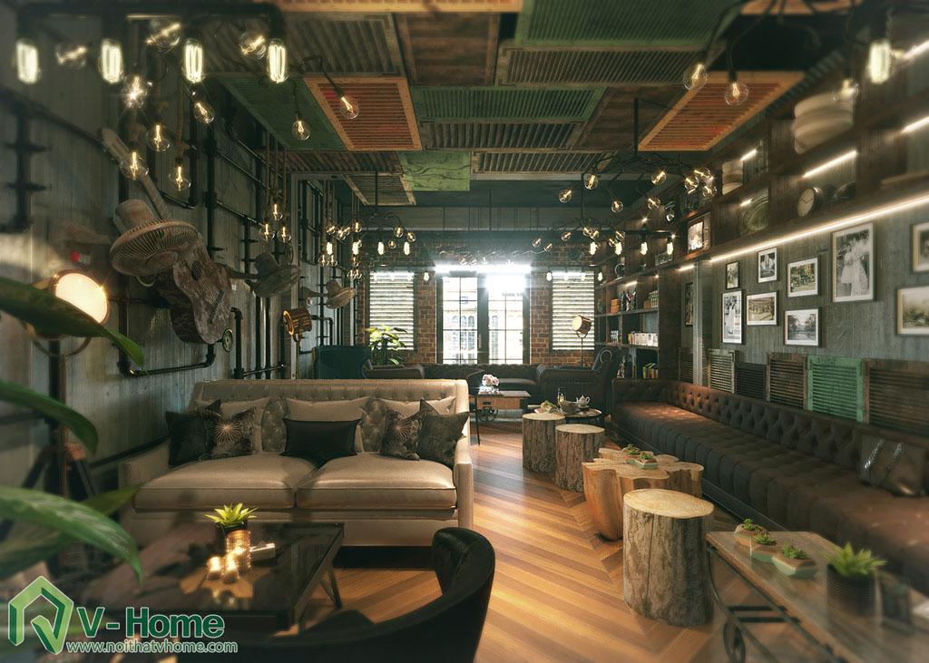 Thiết kế quán cafee