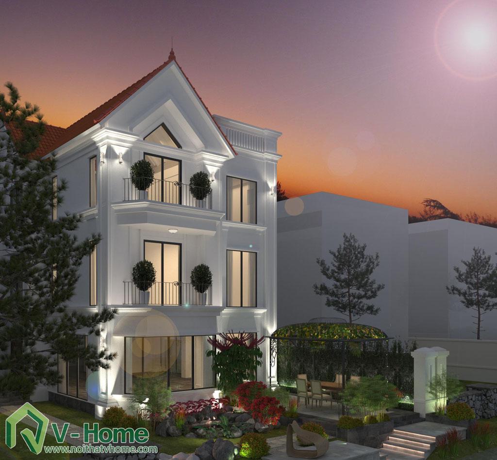 thiet-ke-kien-truc-biet-thu-vinhomes-riverside-3 Thiết kế nội thất biệt thự Vinhomes Riverside - C. Trang