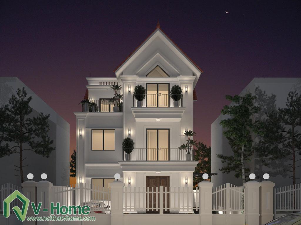 thiet-ke-kien-truc-biet-thu-vinhomes-riverside-4 Thiết kế nội thất biệt thự Vinhomes Riverside - C. Trang