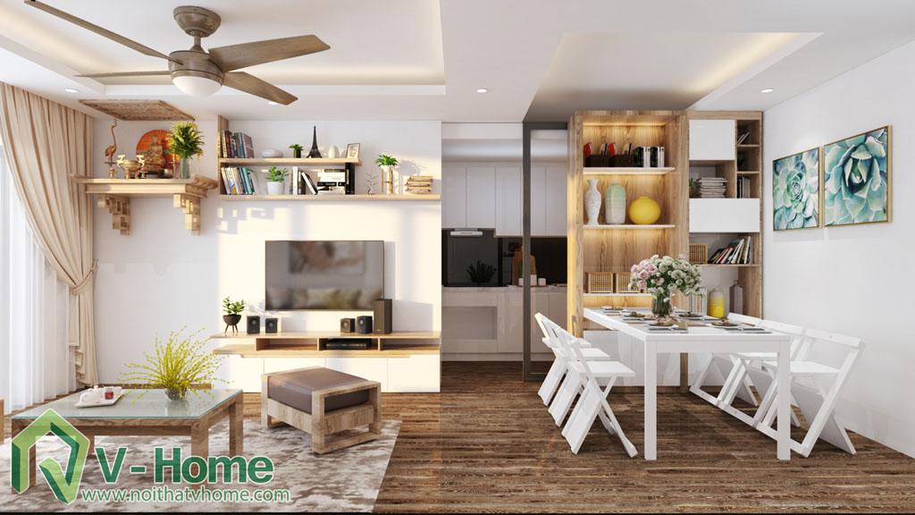 thiet-ke-noi-that-349-vu-tong-phan-3-1 Thiết kế nội thất chung cư 349 Vũ Tông Phan - A. Hà