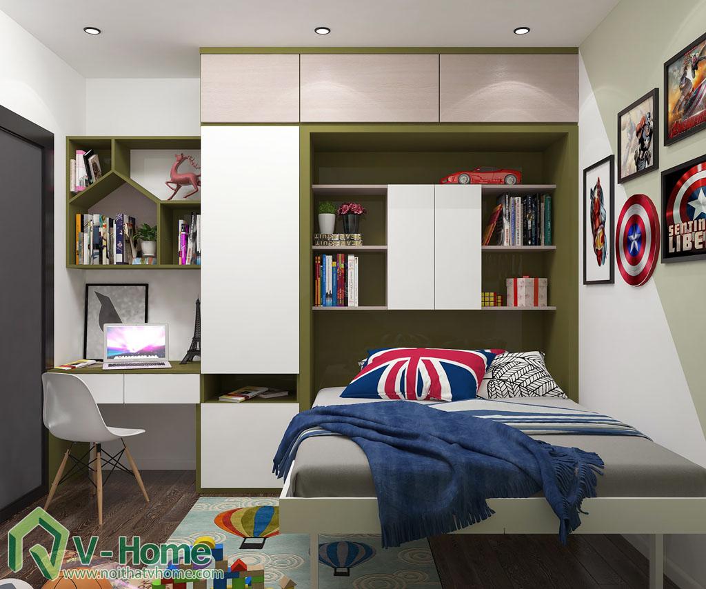 thiet-ke-noi-that-349-vu-tong-phan-9-1 Thiết kế nội thất chung cư 349 Vũ Tông Phan - A. Hà