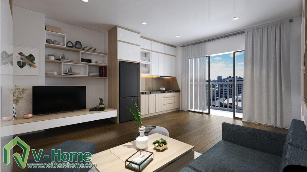thiet-ke-noi-that-can-ho-soho-dcapitale-3 Thiết kế nội thất chung cư căn hộ SOHO Vinhomes D'Capitale