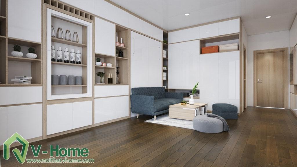 thiet-ke-noi-that-can-ho-soho-dcapitale-4 Thiết kế nội thất chung cư căn hộ SOHO Vinhomes D'Capitale