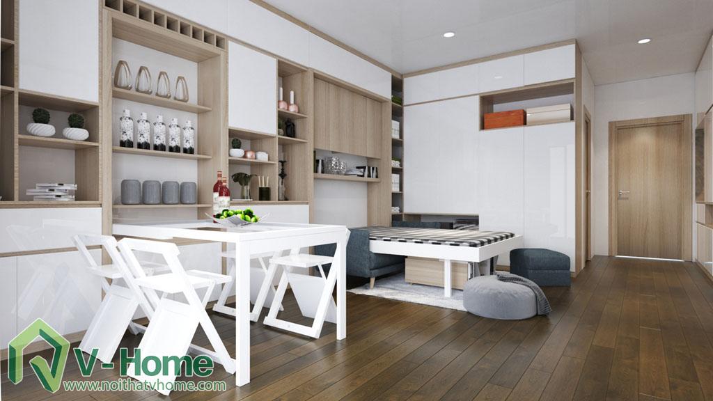 thiet-ke-noi-that-can-ho-soho-dcapitale-6 Thiết kế nội thất chung cư căn hộ SOHO Vinhomes D'Capitale