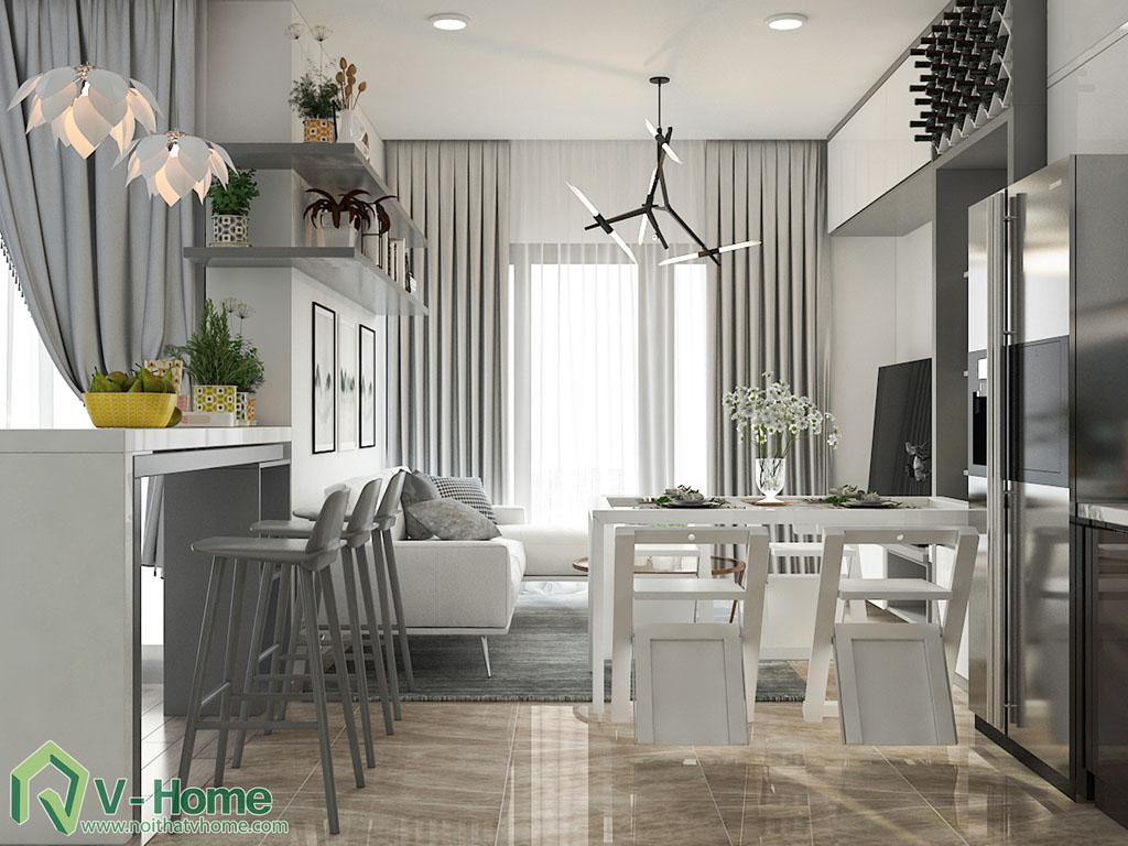 thiet-ke-noi-that-chung-cu-vinhomes-ba-son-5 Thiết kế nội thất chung cư Vinhomes Golden River