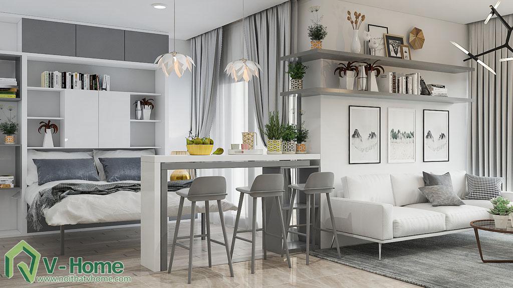 thiet-ke-noi-that-chung-cu-vinhomes-ba-son-6 Thiết kế nội thất chung cư Vinhomes Golden River