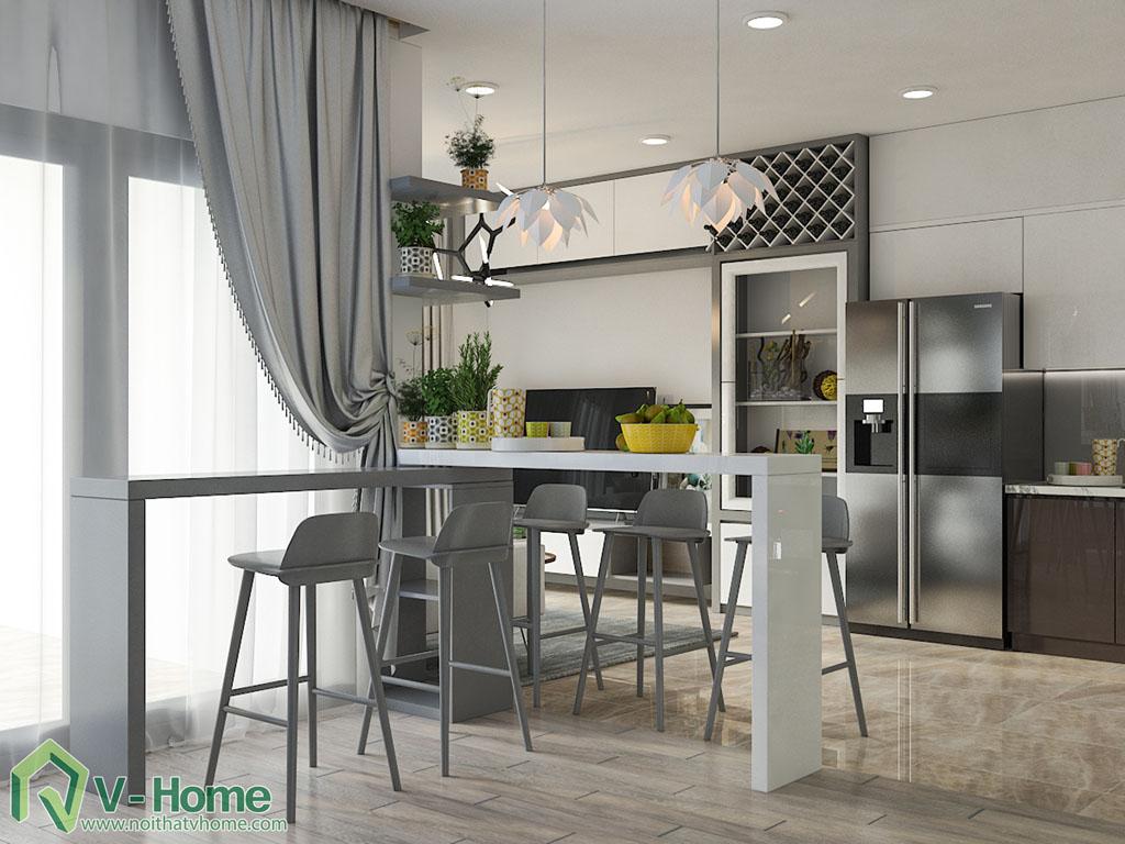 thiet-ke-noi-that-chung-cu-vinhomes-ba-son-9 Thiết kế nội thất chung cư Vinhomes Golden River