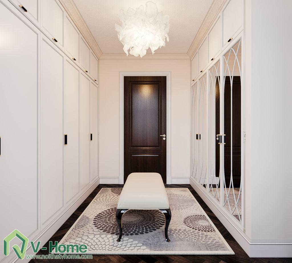 thiết kế phòng ngủ biệt thự vinhomes riverside