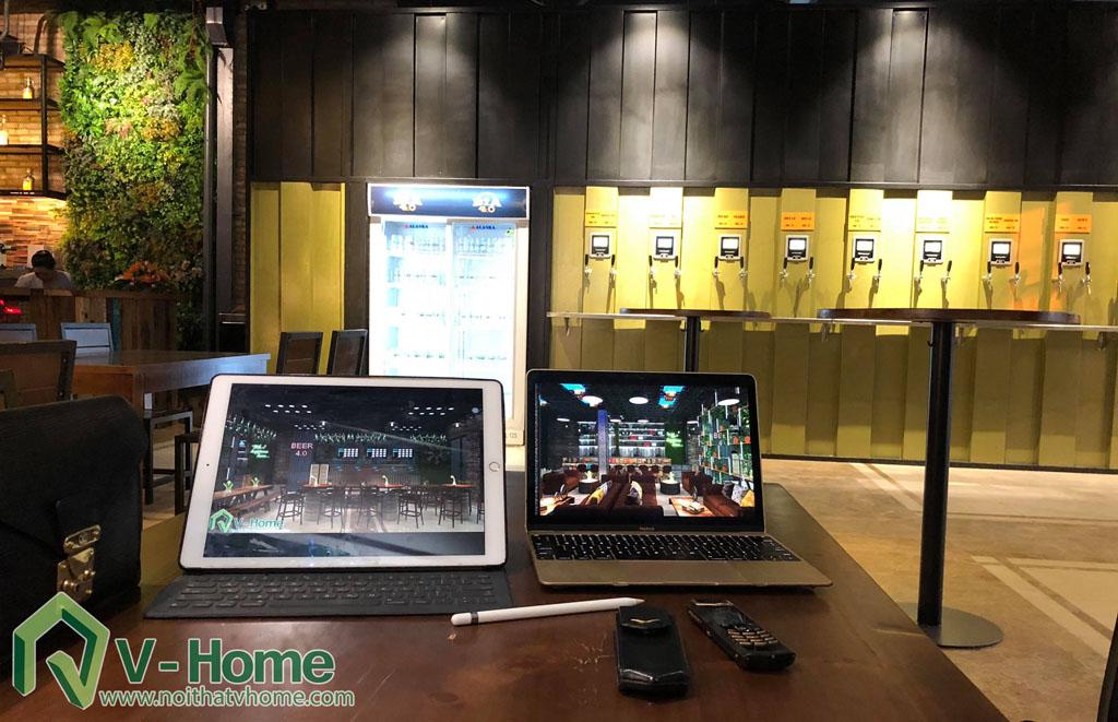 thi-cong-bia-atm-4.0-6 Thi công dự án thiết kế nội thất quán bia ATM 4.0