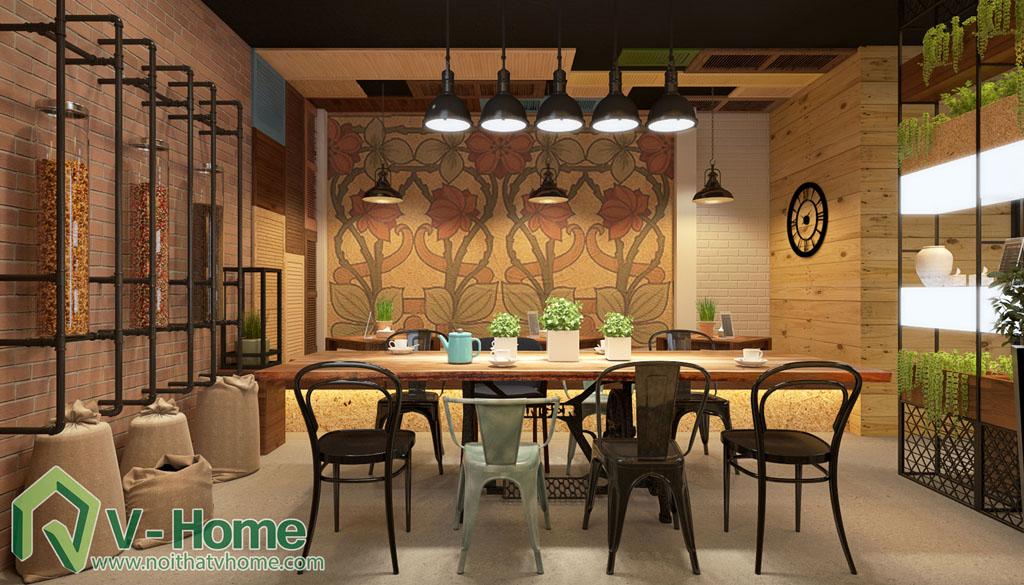 thiet-ke-cua-hang-coffee-tea-house-11 Thiết kế không gian Coffee Tea House