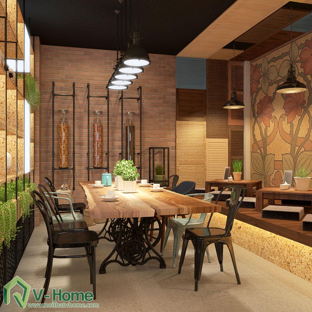 thiet-ke-cua-hang-coffee-tea-house-12 Thiết kế không gian Coffee Tea House