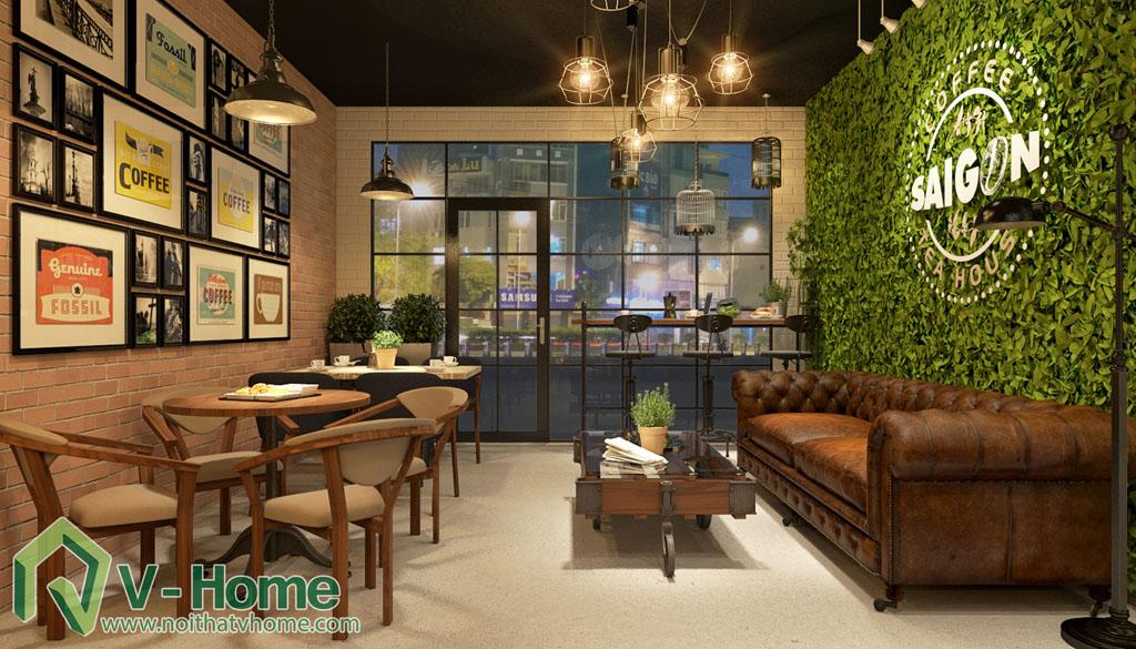 thiet-ke-cua-hang-coffee-tea-house-3 Thiết kế không gian Coffee Tea House
