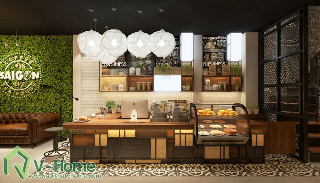 thiet-ke-cua-hang-coffee-tea-house-7 Thiết kế không gian Coffee Tea House