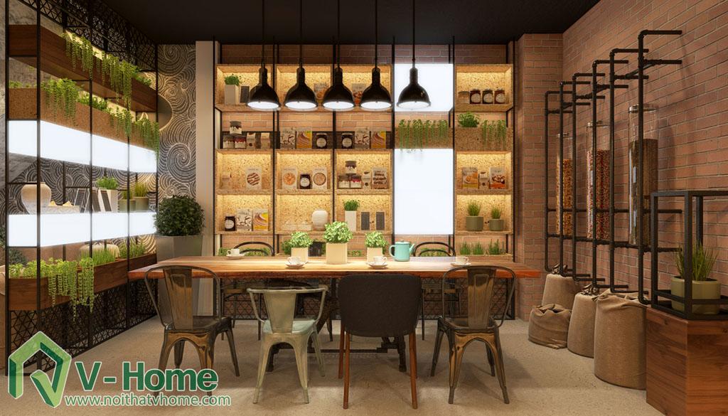 thiet-ke-cua-hang-coffee-tea-house-8 Thiết kế không gian Coffee Tea House