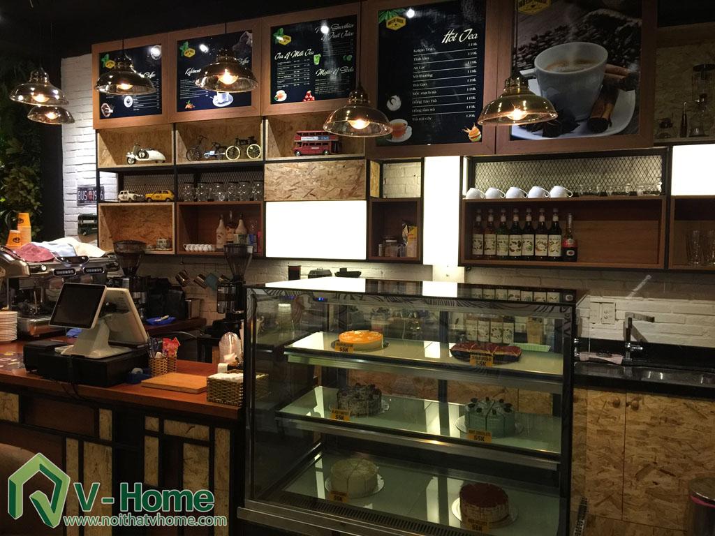 Thi công không gian Cafe Kafein House -9