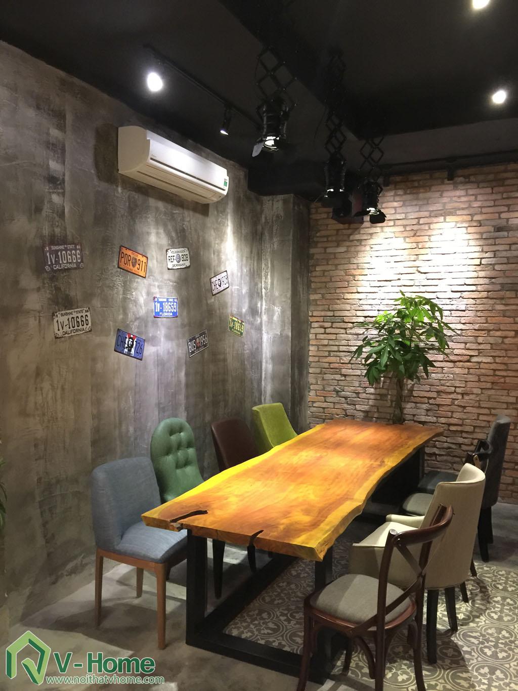 Thi công không gian Cafe Kafein House -11