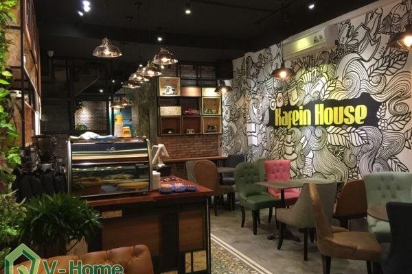 thiết kế không gian quán Cafe Kafein House