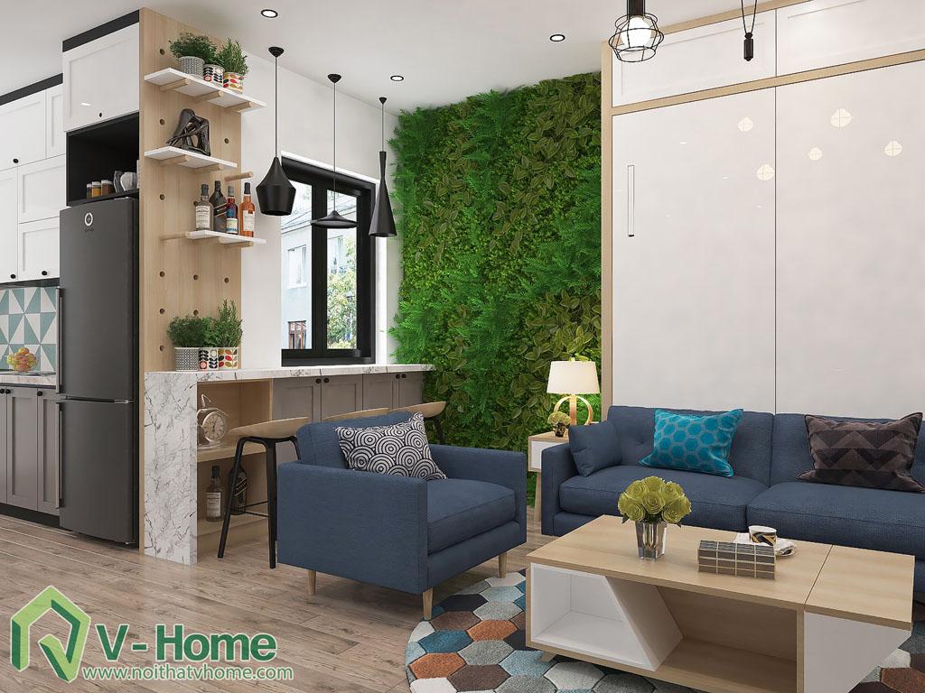thiet-ke-phong-khach-chung-cu-him-lam-4 Thiết kế nội thất chung cư Him Lam Riverside - C. Oanh