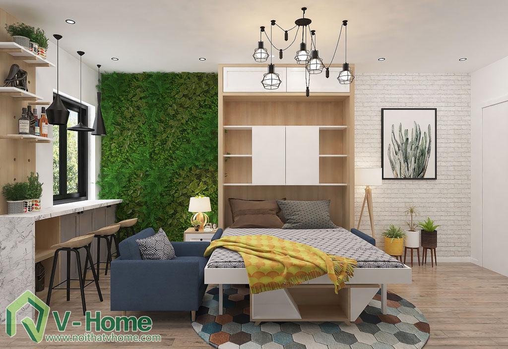 thiet-ke-phong-khach-chung-cu-him-lam-5 Thiết kế nội thất chung cư Him Lam Riverside - C. Oanh