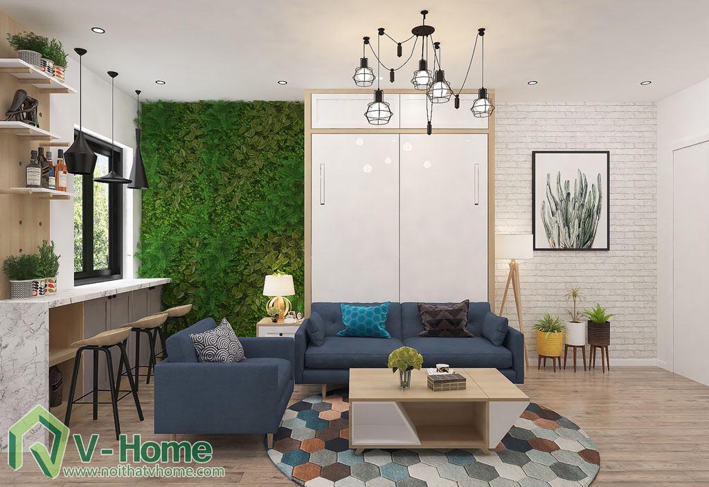 thiet-ke-phong-khach-chung-cu-him-lam-6 Thiết kế nội thất chung cư Him Lam Riverside - C. Oanh