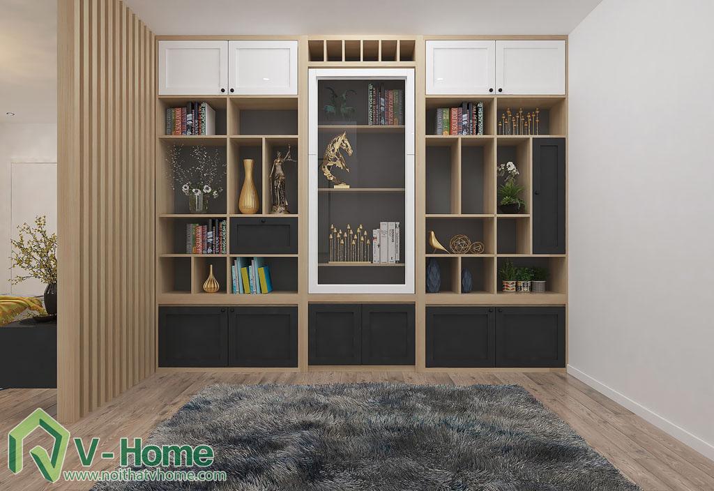 thiet-ke-phong-khach-chung-cu-him-lam-7 Thiết kế nội thất chung cư Him Lam Riverside - C. Oanh
