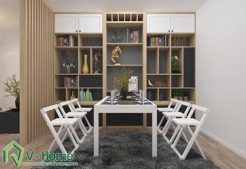 thiet-ke-phong-khach-chung-cu-him-lam-8 Thiết kế nội thất chung cư Him Lam Riverside - C. Oanh