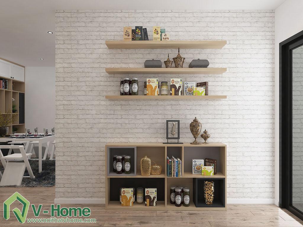 thiet-ke-phong-khach-chung-cu-him-lam-9 Thiết kế nội thất chung cư Him Lam Riverside - C. Oanh