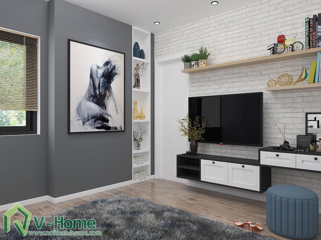 thiet-ke-phong-ngu-chung-cu-him-lam-1 Thiết kế nội thất chung cư Him Lam Riverside - C. Oanh