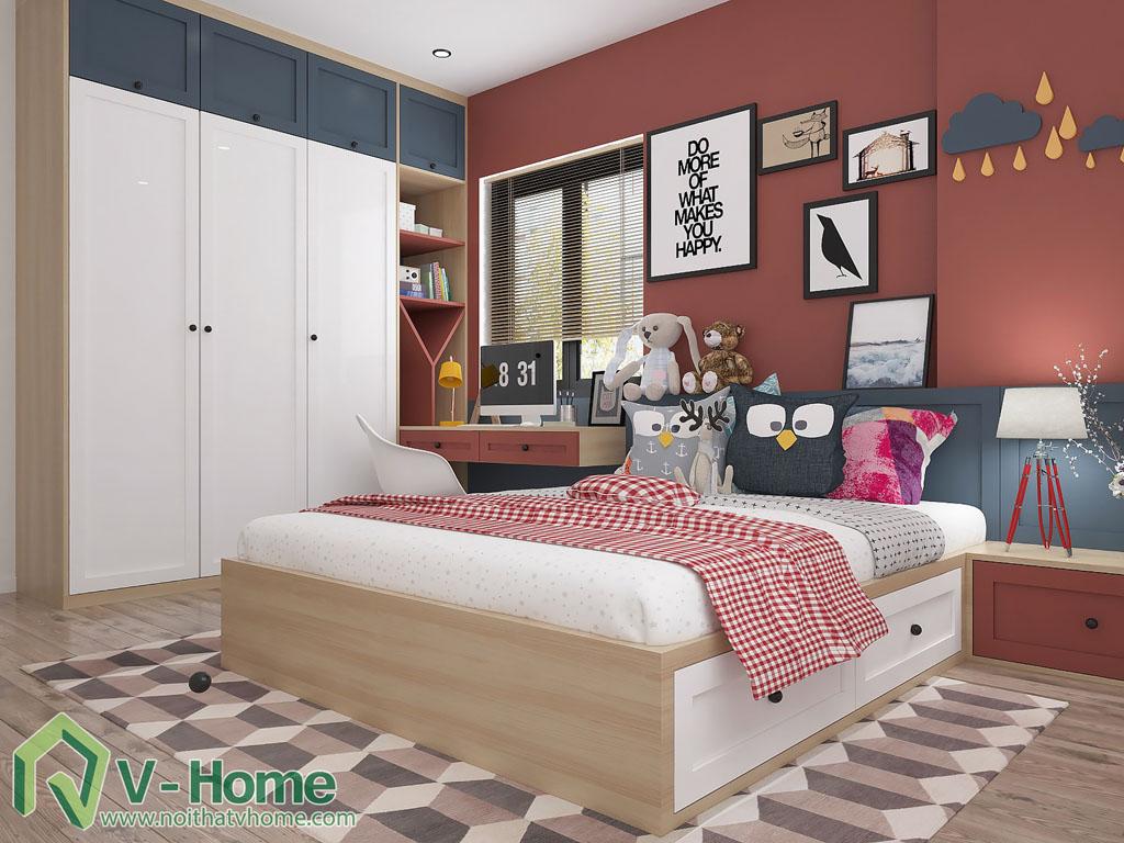 thiet-ke-phong-ngu-chung-cu-him-lam-10 Thiết kế nội thất chung cư Him Lam Riverside - C. Oanh