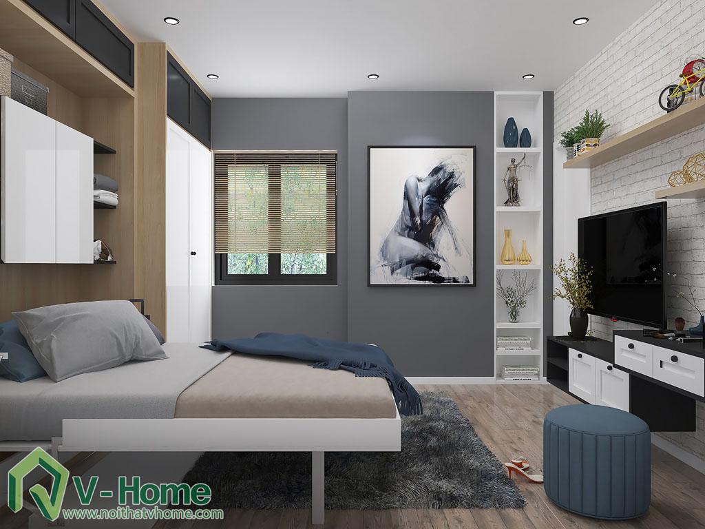 thiet-ke-phong-ngu-chung-cu-him-lam-2 Thiết kế nội thất chung cư Him Lam Riverside - C. Oanh