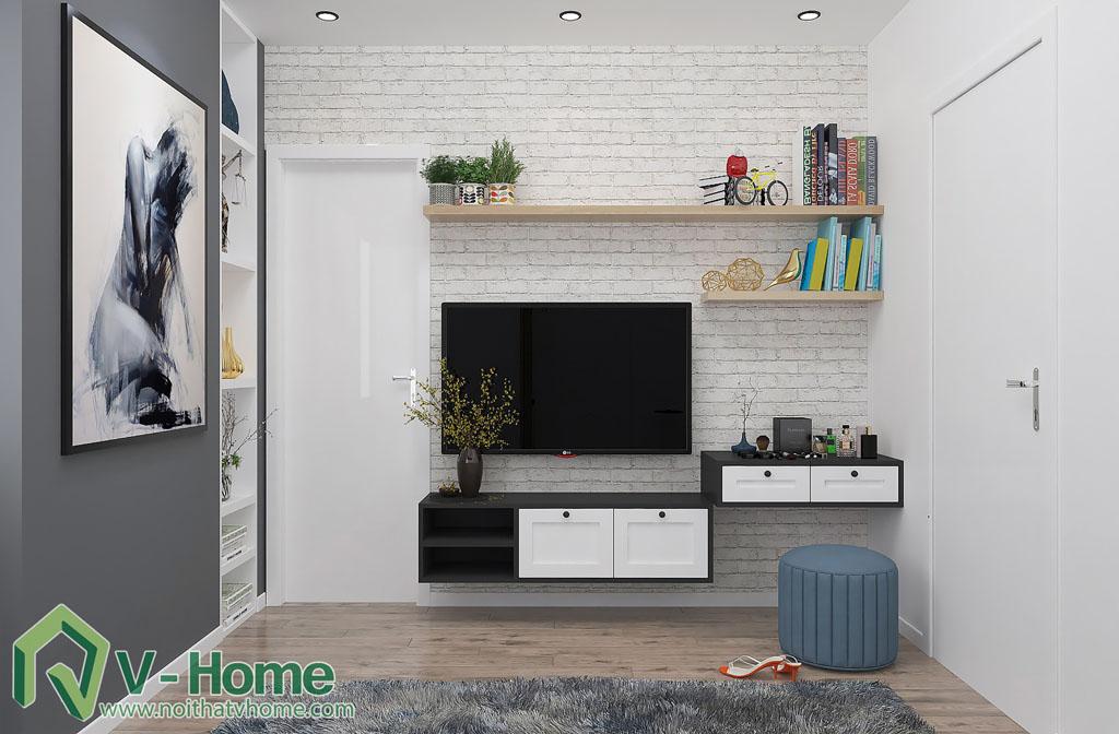 thiet-ke-phong-ngu-chung-cu-him-lam-3 Thiết kế nội thất chung cư Him Lam Riverside - C. Oanh