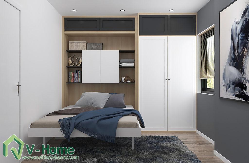 thiet-ke-phong-ngu-chung-cu-him-lam-5 Thiết kế nội thất chung cư Him Lam Riverside - C. Oanh